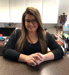 Chelsea Milke, Office Manager