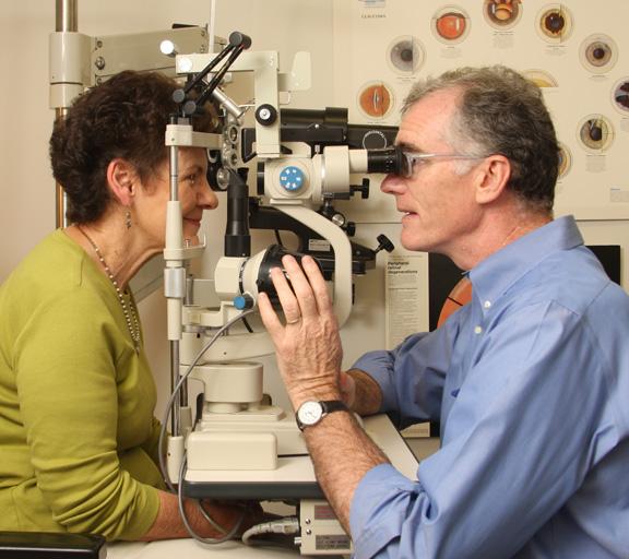 Dr. Gordon Eye Exam